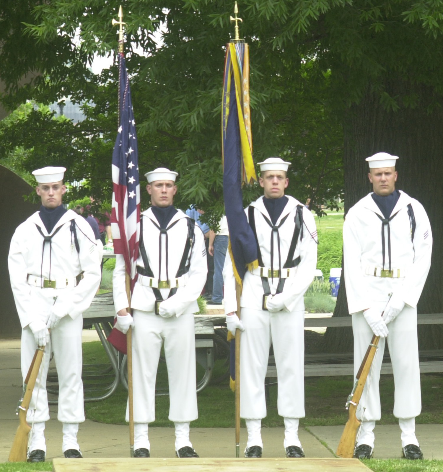 Uss Constitution Or The Ceremonial Guard Duty Navydep - Us-navy-ceremonial-guard